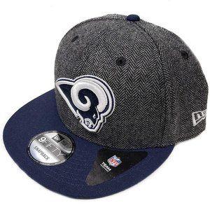 Los Angeles Rams Herringbone Tweed Snapback Hat